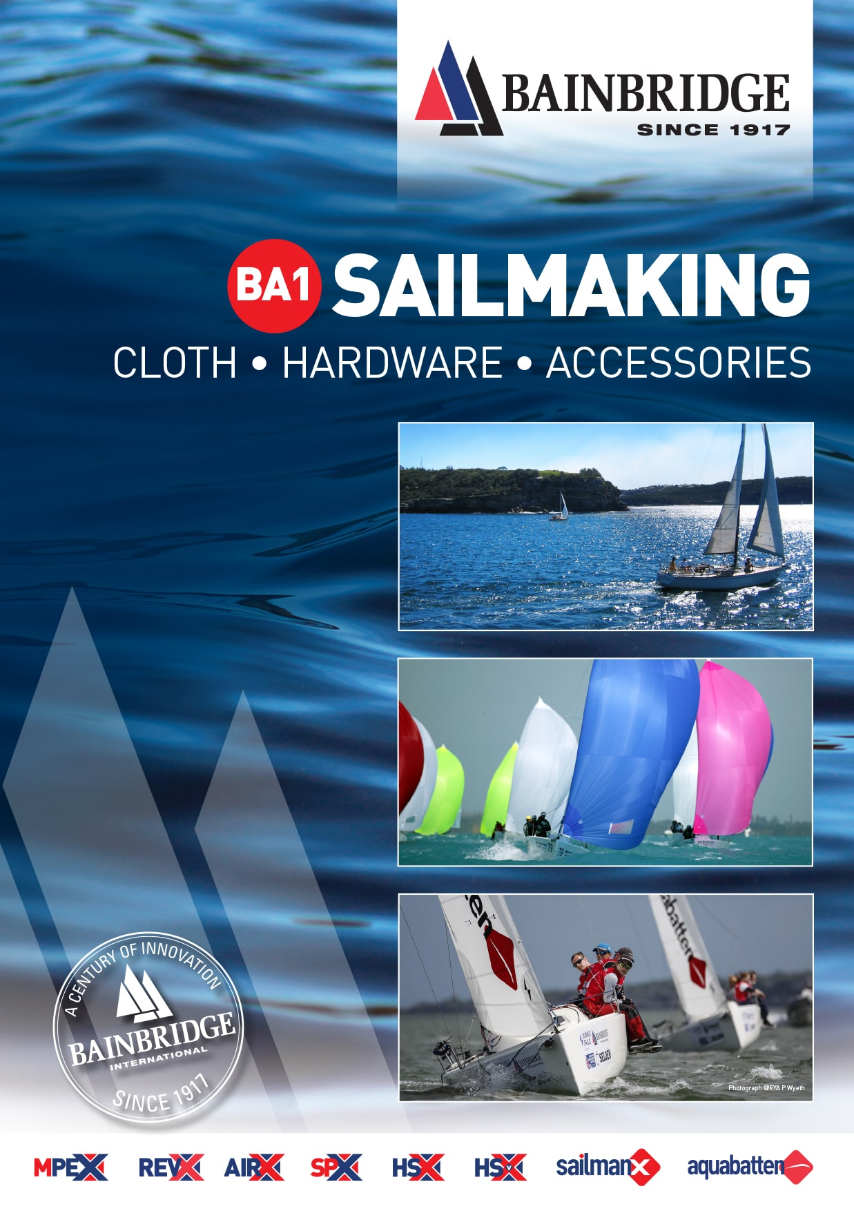 Front Cover of Sailmaking Catalogue