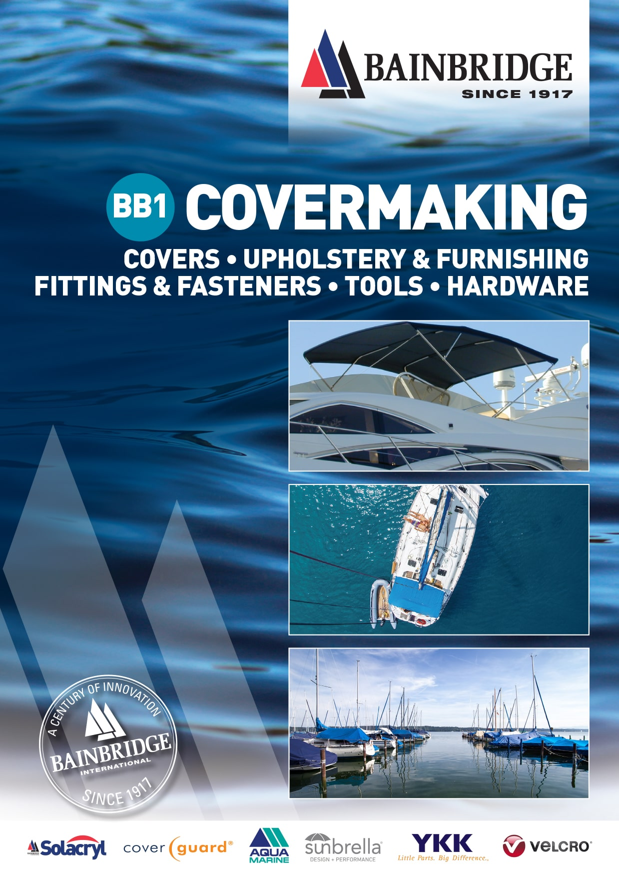 Front Cover of Covermaking Catalogue